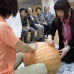 ☆ハロウィンかぼちゃ作り☆