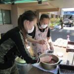 にゅう麺とおでんの炊き出しの方が来られました