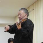 ヴァイオリンとピアノの演奏会がありました