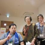 奈良市より理美容のボランティアに来ていただきました