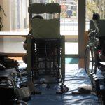 JASPAの皆様が車椅子のメンテナンス・清掃ボランティアに来て下さいました!